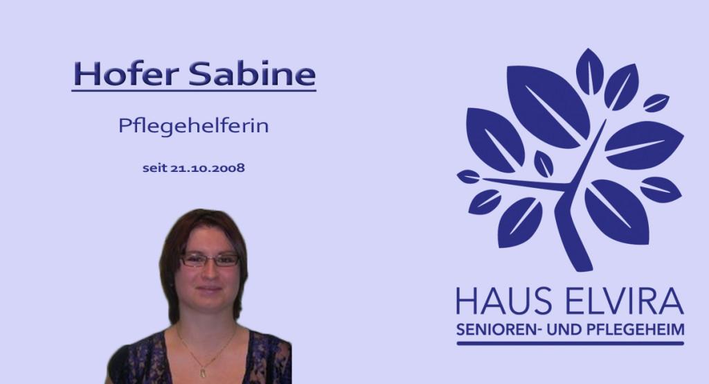 Hofer Sabine